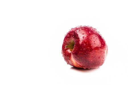 Fresh big apple isolate on white
