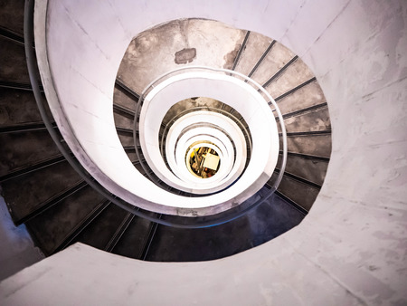 spiral staircase Reklamní fotografie