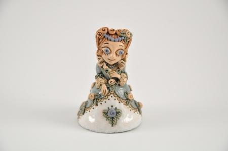 Ceramic miniature princess Stock Photo