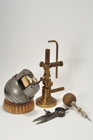 set of tools for jewelry
