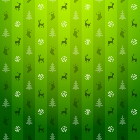 s eve: Christmas green background