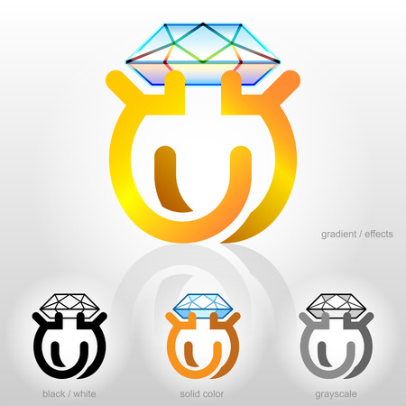 Symbol for jewelry industry companies Stock Vector - 24697439