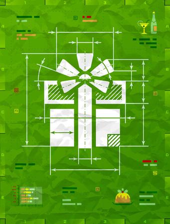 Gift technical blueprint.