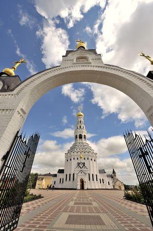 Spaso-Preobragenskiy cathedral in Dnepropetrovsk (Ukraine). Orthodox church