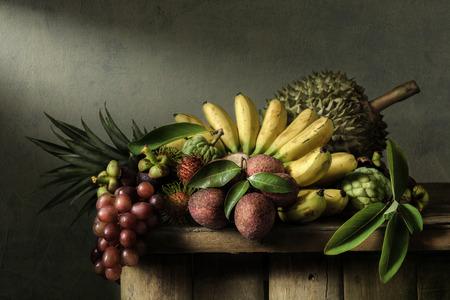 rambutan: Still life with fruits Stock Photo