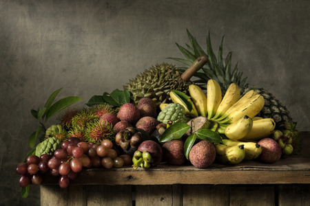 variety: Still life with fruits Stock Photo