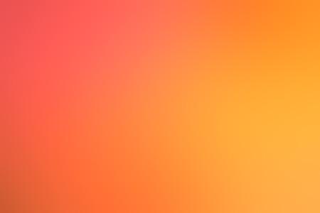 Blur orange nature background
