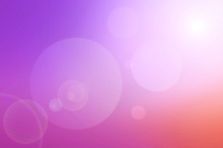 Blur purple nature background with len flare effect