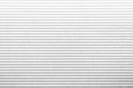 shutter door: White roller shutter door background Stock Photo