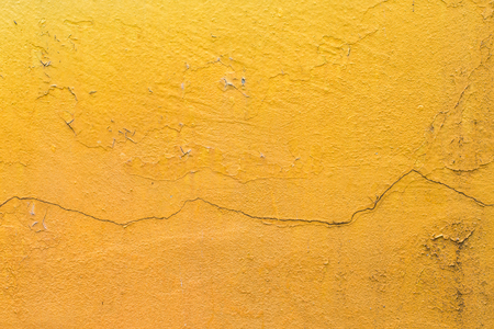 cement wall: Yellow cement wall texture background