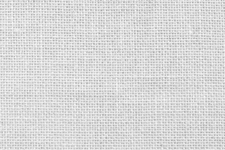 White sackcloth texture background