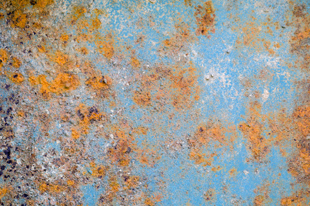 weathered: Abstract rust texture on old steel board
