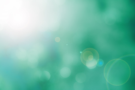 Abstract blur background with lens flare effect Standard-Bild