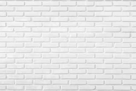brick facades: Abstract white brick wall as a background