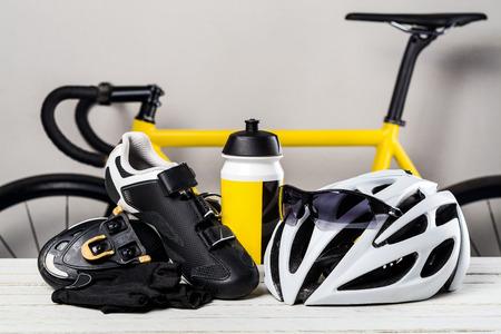 Cycling accessories Archivio Fotografico