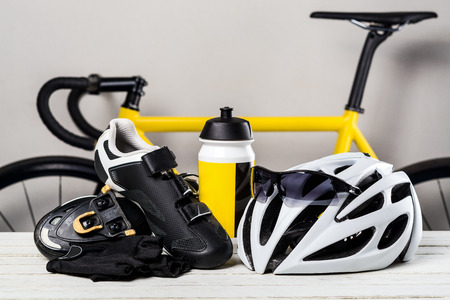 Cycling accessories Banco de Imagens
