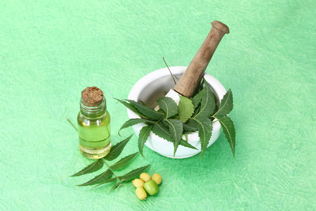 Indian Ayurvedic Neem and Oil, Indian Ayurvedic