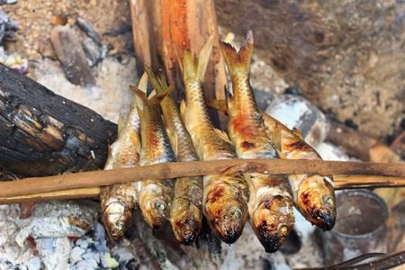 The fish burned. photo