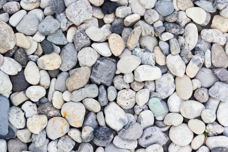 various pebble stones texture Stock Photo - 13565522