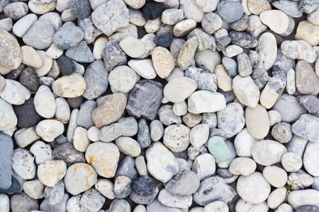 various pebble stones texture Stock Photo - 13565522