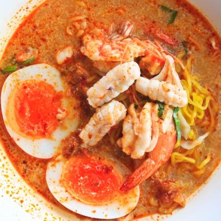 Tom Yam Koong en Squid soep met noodles: Thaise keuken