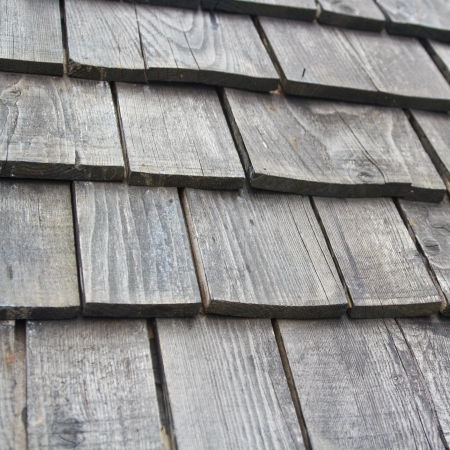 wooden shingles  photo