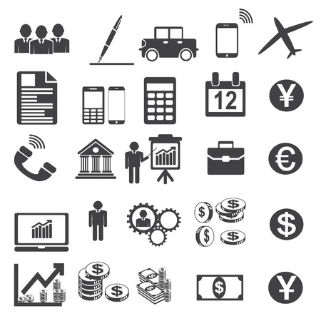 D'affaires Vector Icons illustration Simplus s�rie