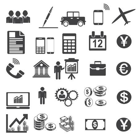 simplus: S�mbolos de negocios Ilustraci�n vectorial Simplus serie