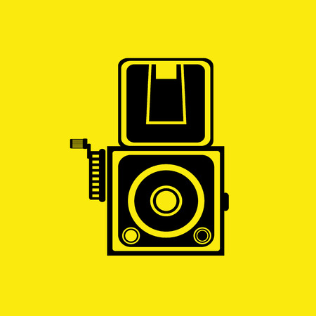 camera and Video icons set  Vector