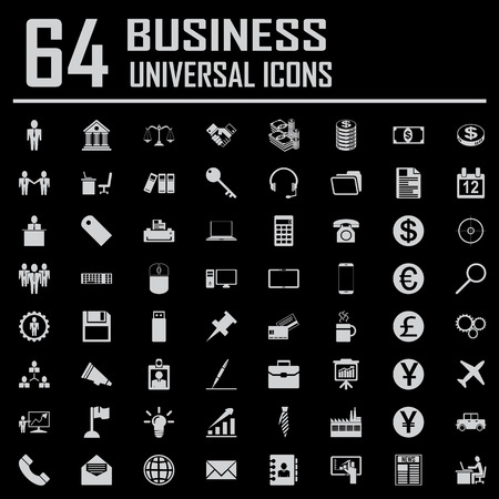 64 Business Icons.