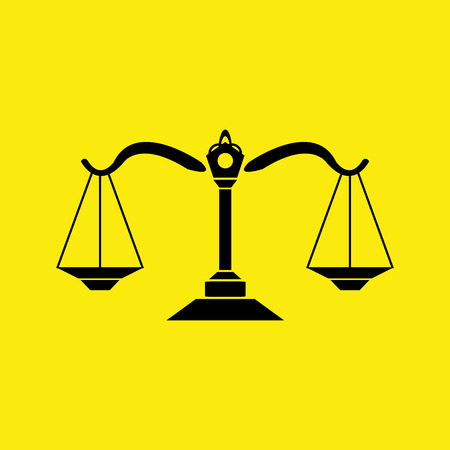 Legal, law and justice icon Vector