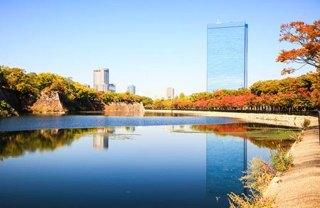 osakajo: Osaka castle park Editorial