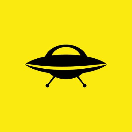 UFO icon. VECTOR illustration Vector