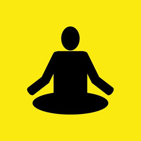 yoga icon: Yoga icon