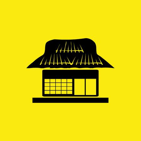 installateur: boerderij, pictogram japan