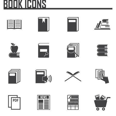 electronic publishing: Books icons