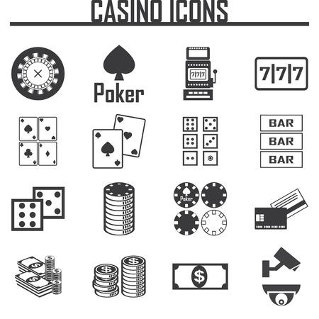 casino pictogrammen instellen