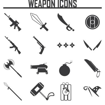 catapult: vector weapon icons