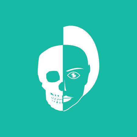 sapiens: Human head Illustration