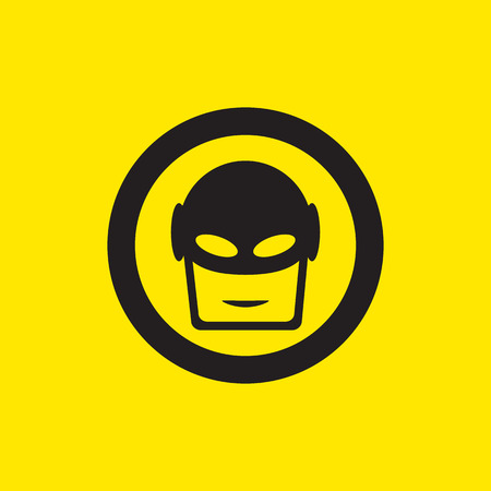 superhero icon illustration 版權商用圖片 - 41540616