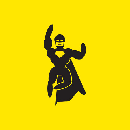 superhero icon illustration 版權商用圖片 - 41575809