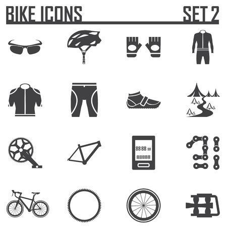 biking glove: bike icon vector illustration. Illustration