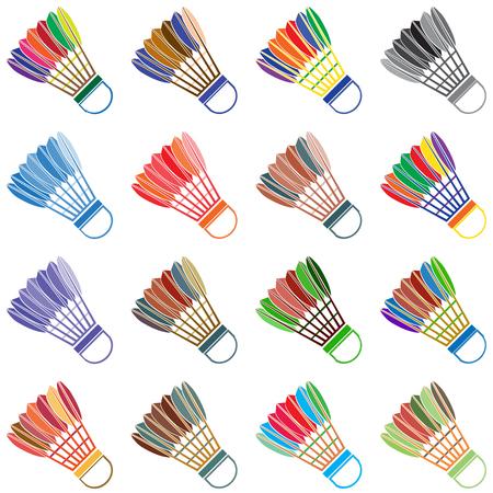 badminton: The badminton icon Illustration