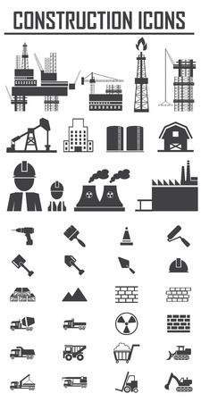 dozer: Construction Icons set.