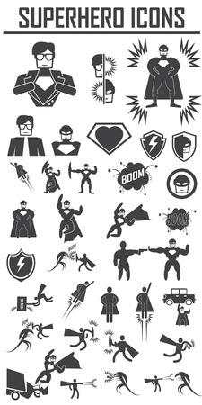hero  icons . 向量圖像