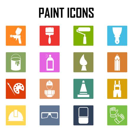 paint gun: Painting Icons