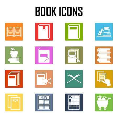 epublishing: Books icons