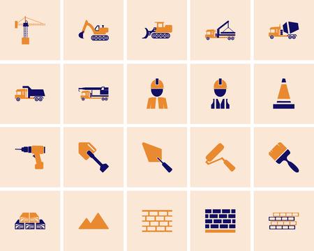 icon: construction icon set.