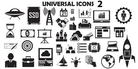 Universal icon set.
