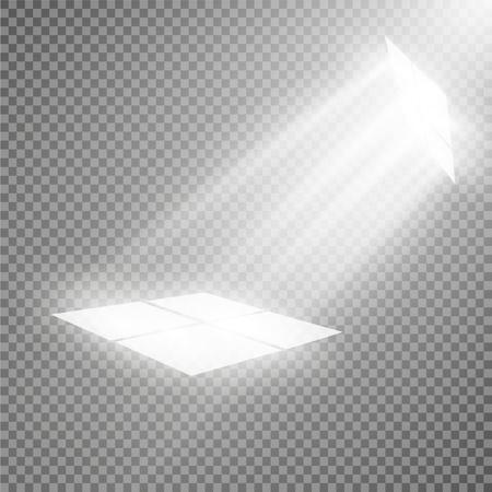 effect: Vector spotlight. Light effect